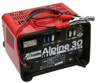 Telwin Alpine 30 Boost 230V 12/24V 20A Battery Charger
