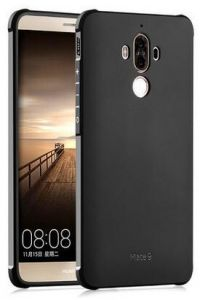 TPU back cover for Huawei mate 9 soft case men anti fall shockproof phone shell black