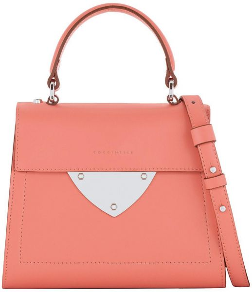 66e9ae5f018 Coccinelle Leather Bag For Women,Pink - Tote Bags   Souq - UAE