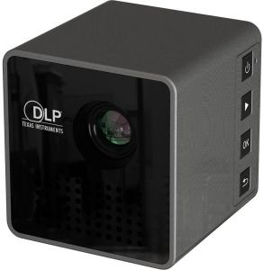 P1 30 Lumens Dlp Projector Hd 1080p Home Theater Led Projector With 3.5mm Audio Port Usb Tf Slot
