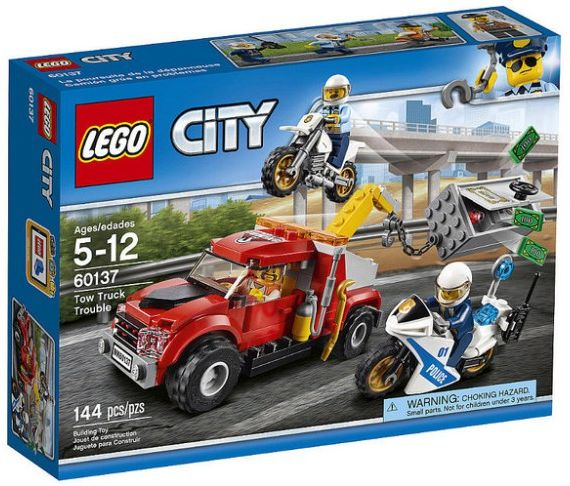 Lego City Police Tow Truck Trouble Building Toy 60137 Souq Uae