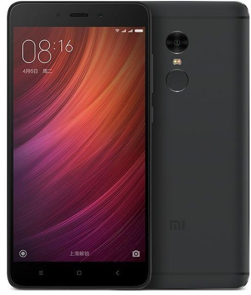 Xiaomi Redmi Note 4 Dual SIM - 32GB, 3GB RAM, 4G LTE, Black - International Version