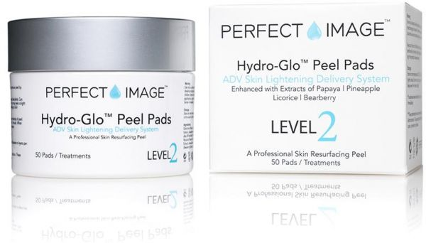 Hydro Glo Peel Pads Enhanced With Lactic Acid 30 By Perfect Image