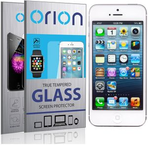 Orion Tempered Glass Screen Protector For Apple iPhone 5