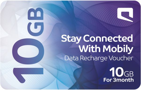 Buy mobily data recharge voucher 10 gb 3 months ksa for Mobilia internet