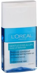 674871af2 Loreal Gentle Eyes & Lips Express Make Up Remover Waterproof And Long  Lasting 125ml