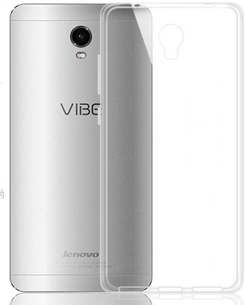 sale retailer 57d2a dd53d Silicone Back Case Cover By Ineix For Lenovo Vibe P1 - CLEAR