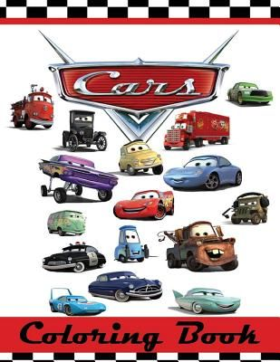Cars Coloring Book: This 80 Page Childrens Coloring Book Has Images ...