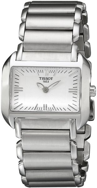 974a0078893 Tissot T-Wave Women s Silver Dial Stainless Steel Band Watch -  T023.309.11.031.00