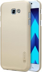 Samsung Galaxy A3(2017) Nillkin Super Frosted Shield Back Case Gold Color
