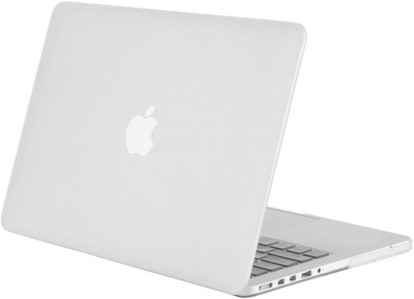White Color Mosiso Plastic Hard Case Cover For Macbook Pro 13 Inch ...