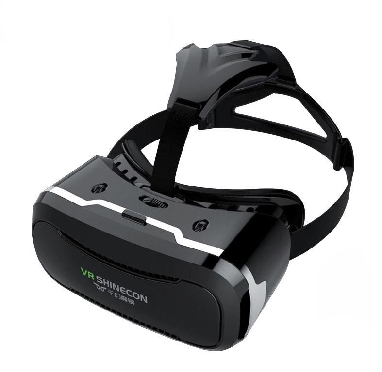 VR Shinecon 2.0 Virtual Reality 3D Glass for Smartphones for 3D movies and 3D Games