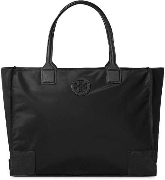 Tory Burch 41159800-001 Ella Packable Tote Bag for Women - Black