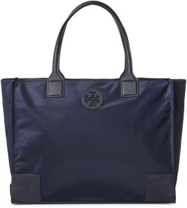 Tory Burch 41159800-401 Ella Packable Tote Bag for Women - Tory Navy