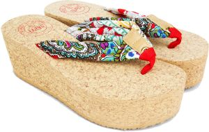 ded1bd53664fc3 SHIRI Beige Flip Flops Slipper For Women