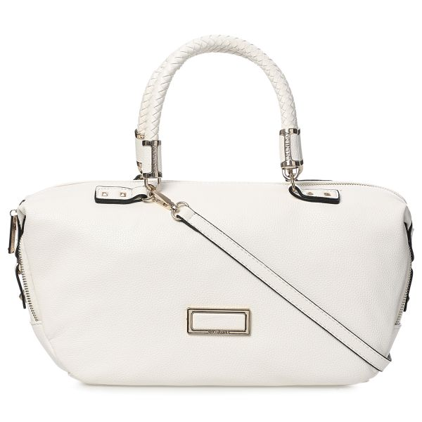 Valentino Vbs0kc03 Duffle Handbags For Women White