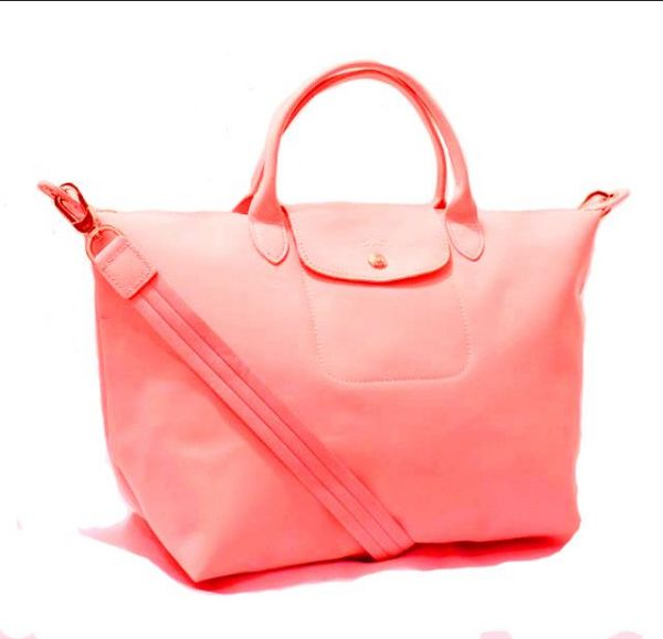 Longchamp Le Pliage Neo Medium Peach Pink  5d5d438e752f0