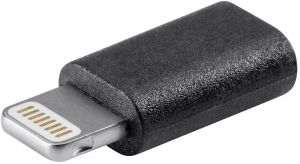 3b7480bd7d90a Lightning to Micro USB Adapter Cable for Apple iPhone 5  5s 5c iPod Touch  iPad 4 mini ( Black )