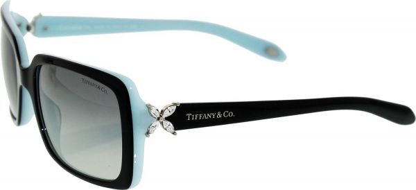 d634132f48 Tiffany Co Gradient TF4047B-80553C-55 Black Rectangle Sunglasses For ...