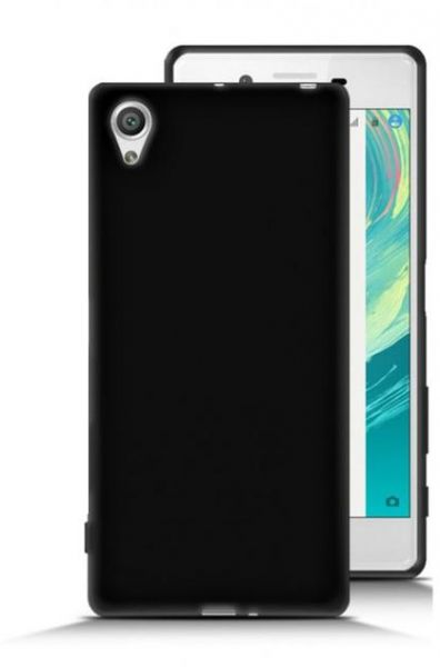 uk availability 62d6a e2583 Silicone Back Case Cover By Ineix For Sony Xperia X - BLACK