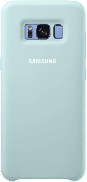 uk availability eae28 32a32 Samsung Galaxy S8 Silicone Cover - Blue, EF-PG950