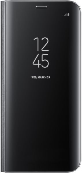 Samsung Galaxy S8+ Clear View Standing Cover - Black, EF-ZG955