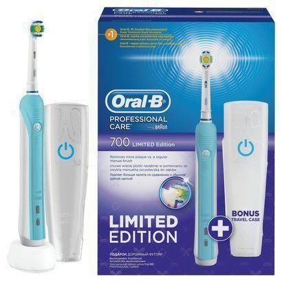 price review and buy braun oral b professional care 700 limited edition ksa souq. Black Bedroom Furniture Sets. Home Design Ideas