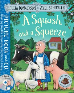 A Squash and a Squeeze by Julia Donaldson - CD