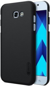 Nillkin Frosted Shield Hard Case Cover with Screen Protector for Samsung Galaxy A5 (2017) - Black