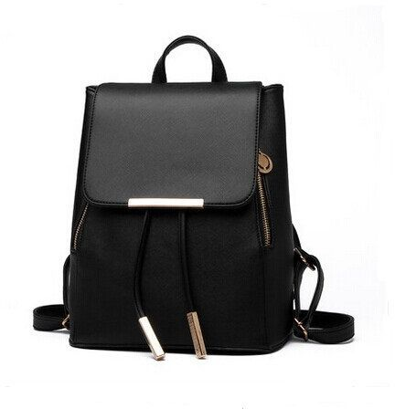 0452096b20 Korean version fashion double shoulder bag Backpack Black WB15 ...