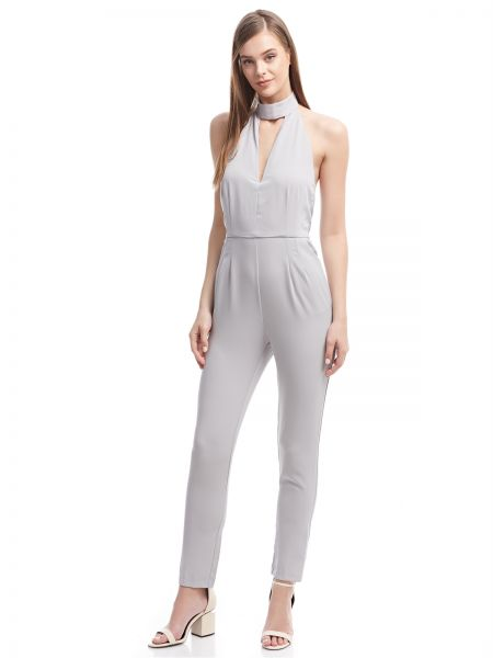 c56b767dc7ee Lavish Alice Jumpsuit for Women - Grey