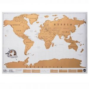 World map zooyooicanvasartthe decal guru uae souq v like scratch map personalised world map poster gumiabroncs Images