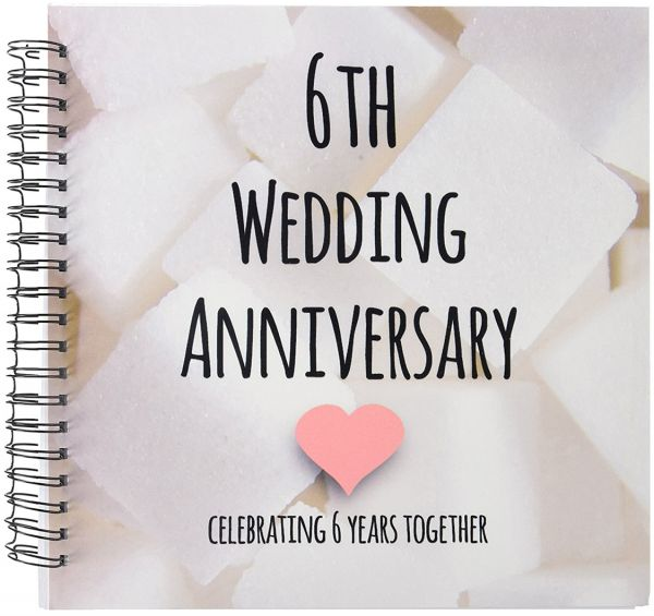Celebrating 4 Years Of Togetherness Quotes: 3dRose Db_154435_2 6Th Wedding Anniversary Gift Sugar