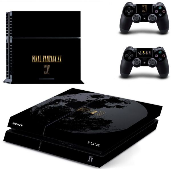 0c4a4afda40c Final Fantasy Skin Sticker for Sony Playstation 4 and Remote ...