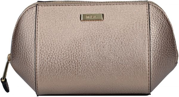 322118bdb240 Lauren By Ralph Lauren 432617341002 Carlisle New Cosmetic Case for Women -  Metallic