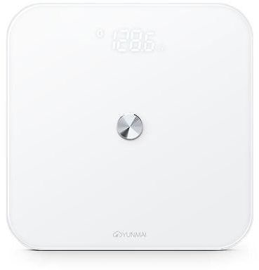 yunmai se bluetooth smart scale with mobile app sync white color