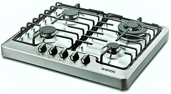 Souq | Daewoo Dgt-655ta Table Top Cooker With 4 Gas Burners | UAE
