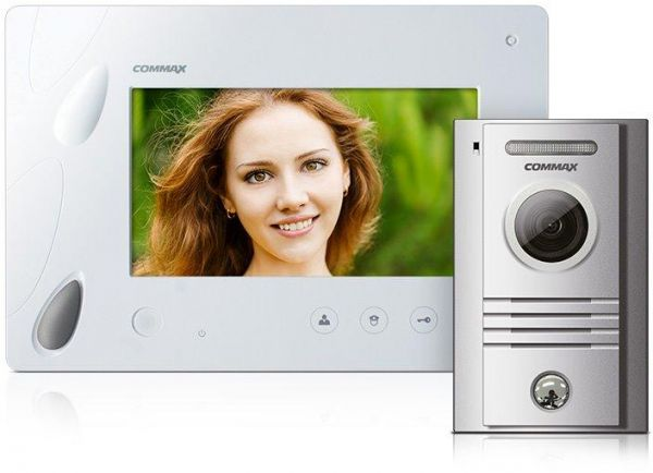 COMMAX Video Intercom 7inch Handsfree Monitor Camera Kit CDV70PDRC40K