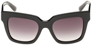 c61a06f0c57 Dolce   Gabbana Square Sunglasses for Women - Full Rim Grey Frame