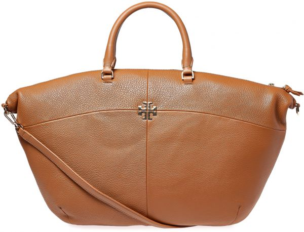 9a6921b8d004 Tory Burch Ivy Slouchy Tote Bag for Women - Bark