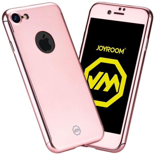 iPhone 7 Case JoyRoom 360 degree full cover protection, Rose Gold