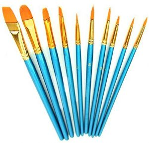 Top Super Ts002 Watercolor Oil Acrylic Painting Paint Brush Set