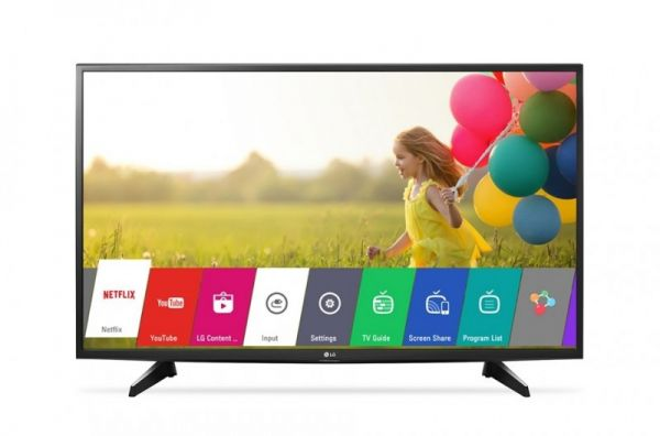 Lg 43 Inch Smart Led Full Hd Tv With Built In Hd Receiver 43lj550v