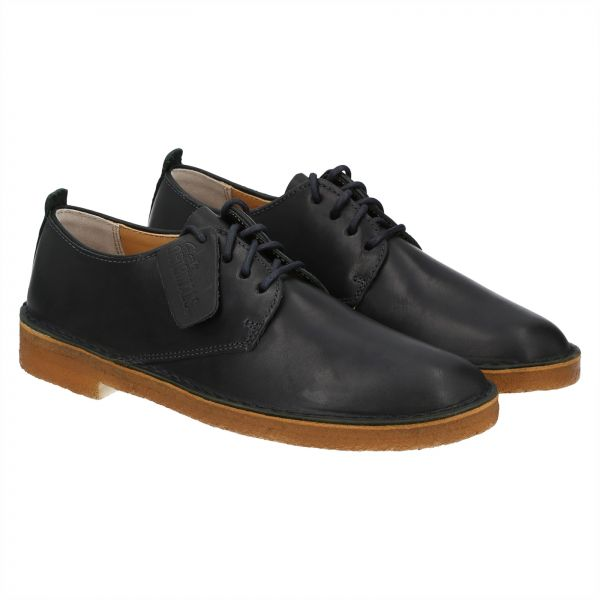 Clarks Desert London Oxford Shoes for Men - Black