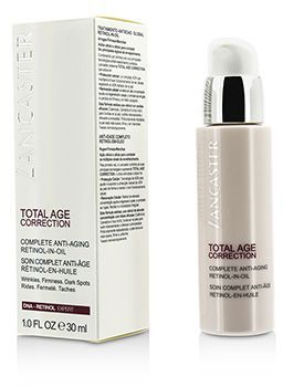 Lancaster - Total Age Correction Complete Anti-Aging Retinol-In-Oil -50ml/1.7oz Super-C 15% Vitamin C Moisturizer - Anti-Aging & Wrinkle Prevention, 2.4 oz.