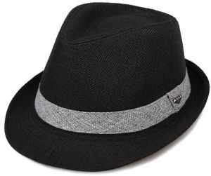 2ed71dad346 Black Bowler   Derby Hat For Men
