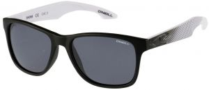9bd3d6fc32 O Neill Shore Unisex Polarized Sunglasses - Matte Black Pattern Solid Smoke  - ONSHORE-197p