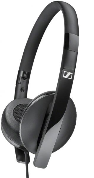 Sennheiser HD 2 20s Stereo On Ear Headphone with mic - Black