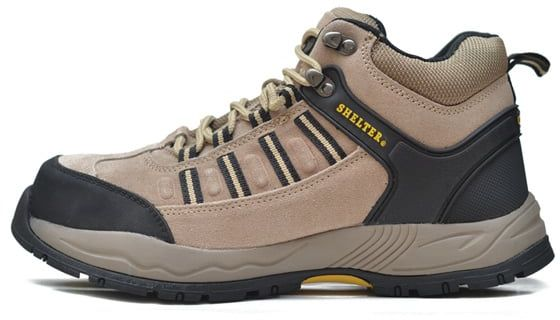 Price Review And Buy Shelter Safety Shoes Sh301-Camel - Multi Color | KSA | Souq