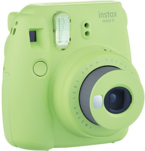 Fujifilm Instax mini 9 Instant Film Camera, Lime Green